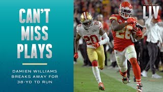 Damien Williams Turns on the Afterburners to Extend Chiefs Lead | Super Bowl LIV