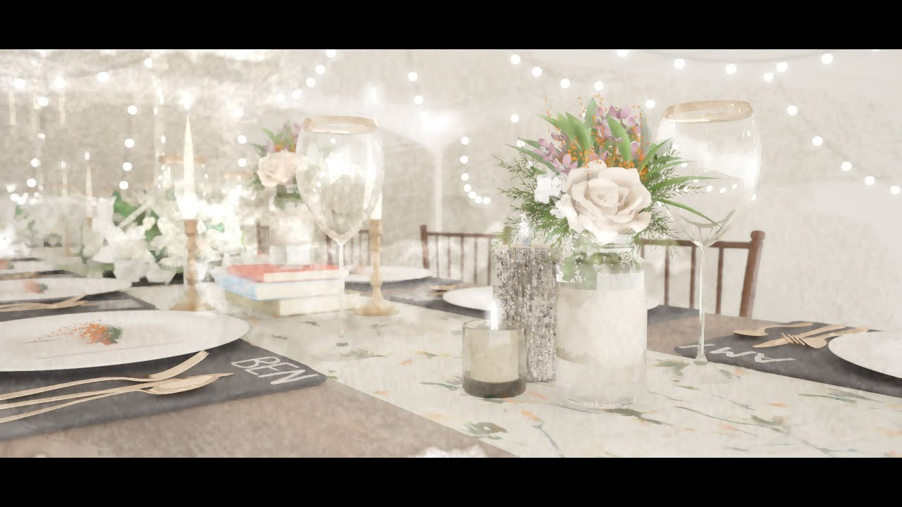 3D Visualisation/Render for Wedding and Event Design - YouTube