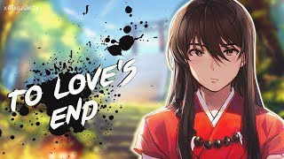 Nightcore - Affections Touching Across Time (To Love's End) [Inuyasha OST] | Lyrics