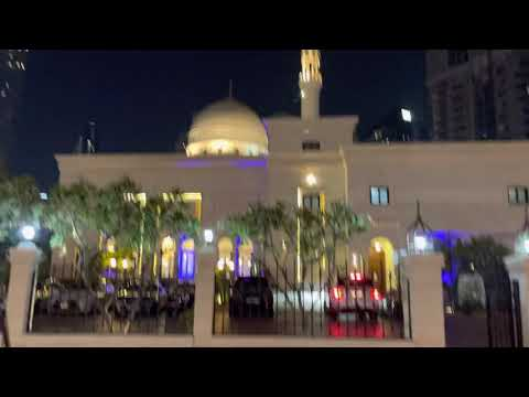 Dubai Jumeira marina masjid