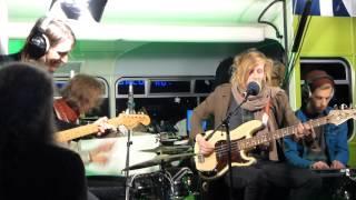 Okta Logue live acoustic - Judith - Reeperbahn Festival Reeperbus Hamburg 2013