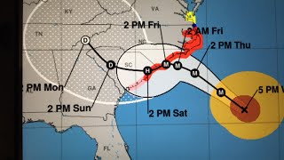 Hurricane Florence updated: