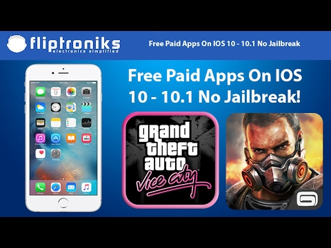 NEW IOS 10 - 10  -10 2 1 Get PAID Apps/Games FREE (NO Jailbreak)- Iphone  7/7Plus/6/6Plus/6s/6sPlus