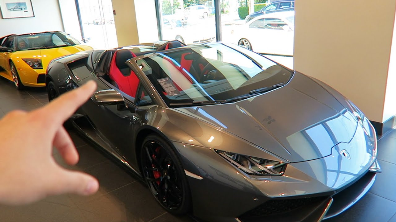 Buying a lamborghini