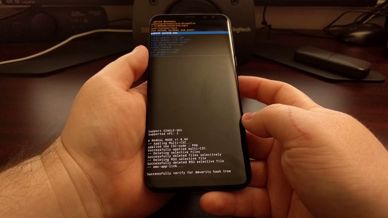 How to Boot the Galaxy S8 and Galaxy S8+ into Fastboot Mode
