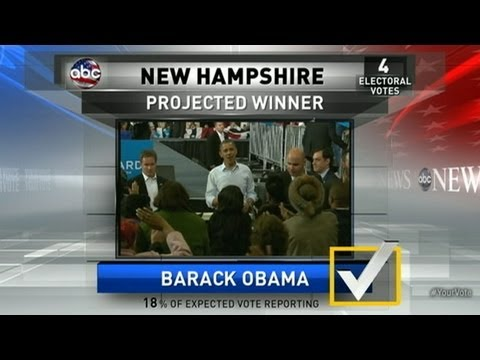 Presidential Election Results 2012: Obama Projected to Win N.H., Minnesota
