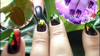 Красивый дизайн ногтей Три Простые техники