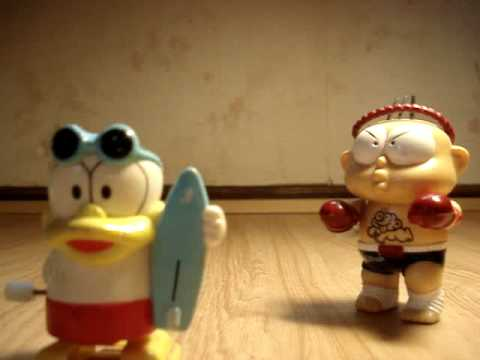 Plastic wind up toy by anythingsell79 on water ultraman walking duck ...