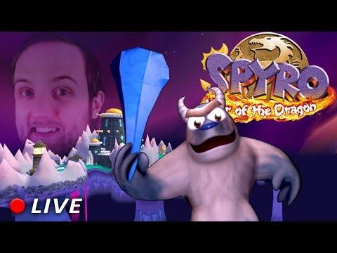 Spyro 3 -  LIVE - 100 uova per il boss finale!