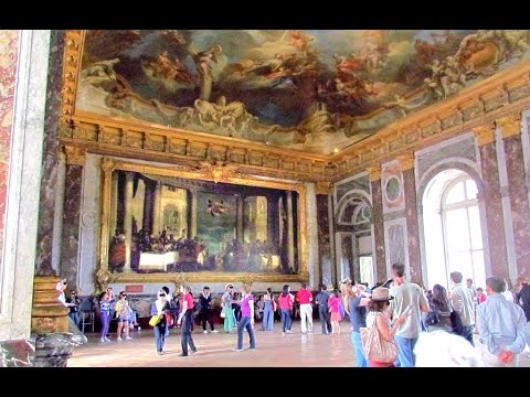 Palace of Versailles, Paris, France (inside) from Travel with Iva Jasperson