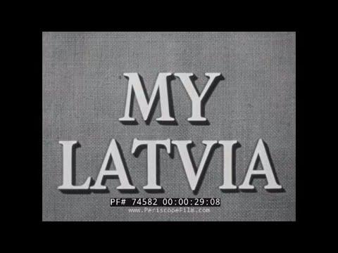 """ MY LATVIA "" COLD WAR SOVIET OCCUPATION OF BALKAN STATES 74582"