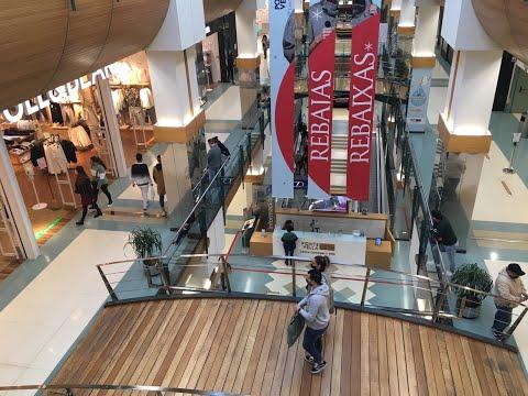 Los centros comerciales vuelven a abrir los fines de semana