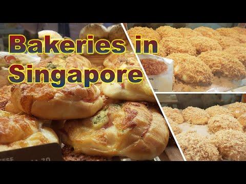 Singapore Bakeries (Mugiya, Breadtalk, Yamazaki and Four Leaves)