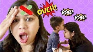 The Boo Boo Song #2   Ryan & Mommy Boo Boo Song   Mommy Got A Boo Boo   Nursery Rhymes & Kids Songs
