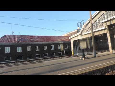 Калининград Königsberg На электричке от Северного до Южного вокзала
