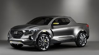 EXTRAORDINARY! 2019 HYUNDAI SANTA CRUZ PICKUP