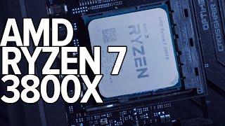 aMD RYZEN 7 3800X - замена RYZEN 7 1800X и 2700X vs core i7 8700k  #TechMNEV