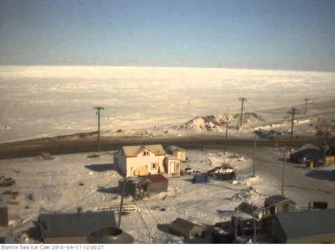 Barrow sea ice webcam 2010