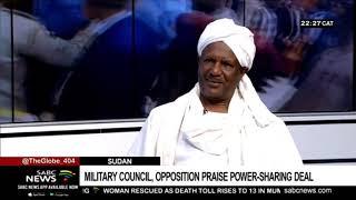 Dr Abdul Elgoni on Sudan's political accord