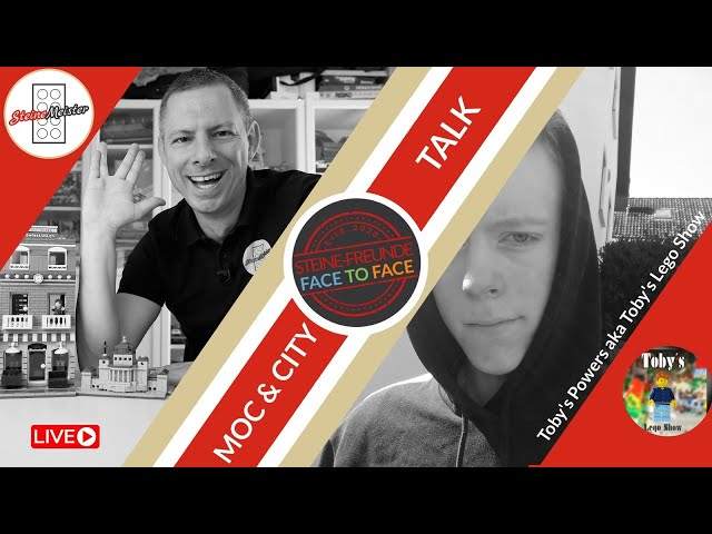 Face to Face: Toby Power aka Toby's Lego Show Face to Face zu Städte (City) und MOCs