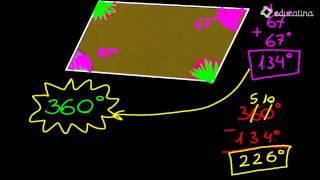 Ángulos del paralelogramo. - Trigonometría - Educatina
