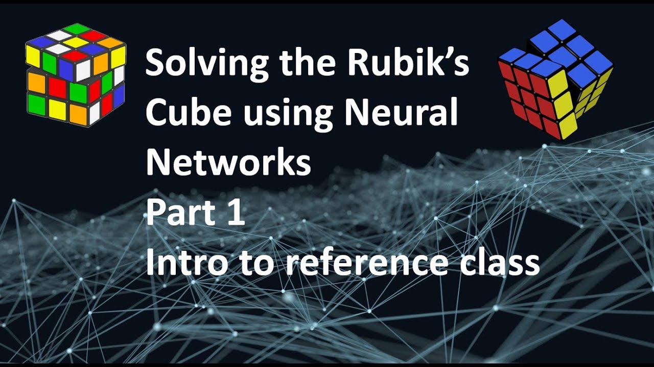 Introduction To Rubik's cube refrence code
