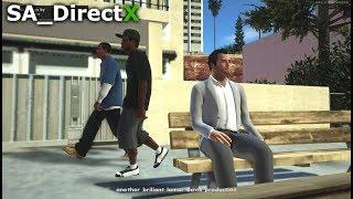 GTA San Andreas - GTA V First Mission + SA_DirectX 2.0 (Gameplay)