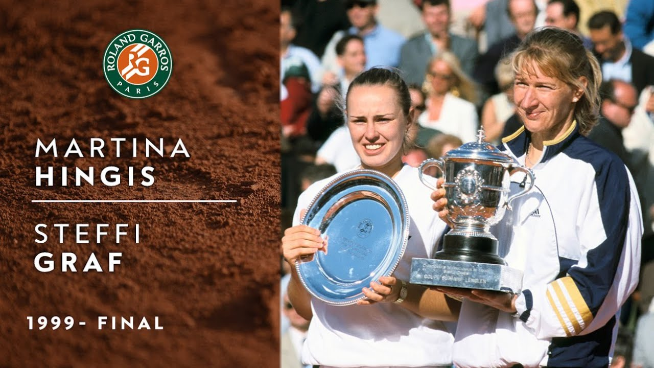 Steffi Graf vs Martina Hingis - Final | Roland-Garros 1999 - YouTube