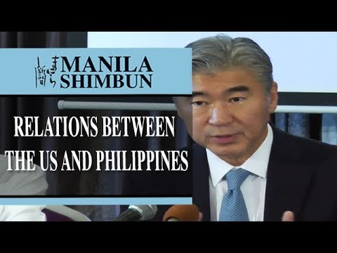 """We [relations between the US and Philippines] are back to normal...."""