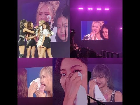 BLACKPINK ENCORE IN BANGKOK DAY 3 - BLACKPINK CRY IN LAST CONCERT TOUR (SWEET MOMENT CUT)