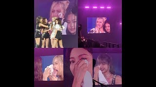 BLACKPINK ENCORE IN BANGKOK DAY 3 BLACKPINK CRY IN LAST CONCERT TOUR SWEET MOMENT CUT