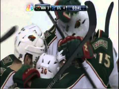 Dany Heatley And Zach Parise's Magical Night Wild Vs. Blues
