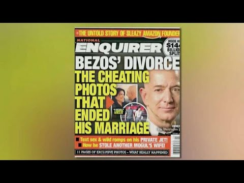 Jeff Bezos accuses National Enquirer of attempted blackmail