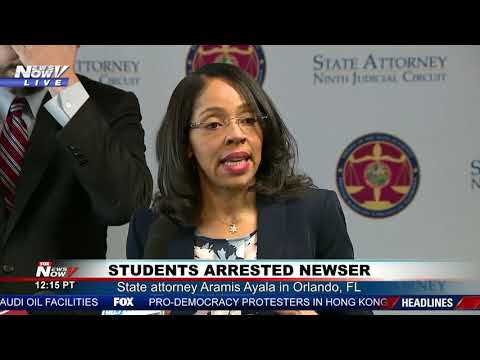 CHILDREN ARRESTED:  Latest on Orlando school resource officer suspended