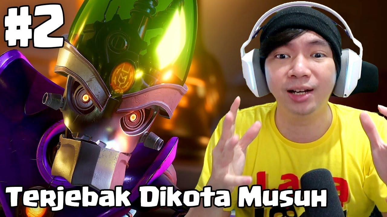 Terjebak Dikota Musuh - Ratchet & Clank : Rift Apart Indonesia - Part 2