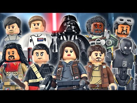 LEGO Star Wars : Rogue One Minifigures - Showcase