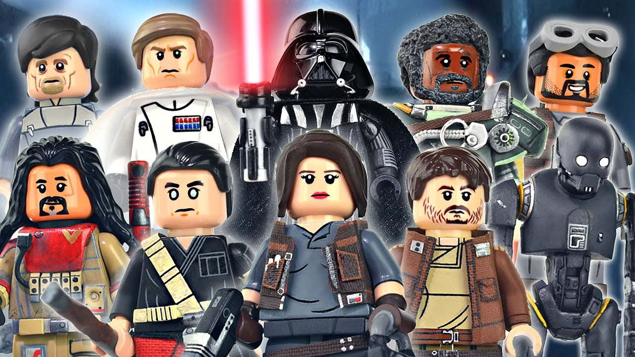 Lego Star Wars Rogue One Minifigures Showcase Youtube
