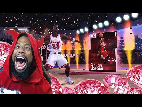 I PULLED PINK DIAMOND MICHAEL JORDAN! Crazy NBA 2K19 MyTeam Pack Opening!