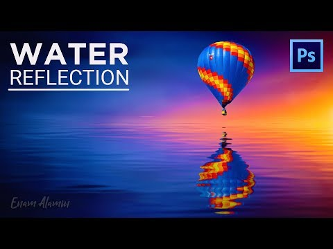 How to Create Realistic Water Reflection Effect in Photoshop (2018)