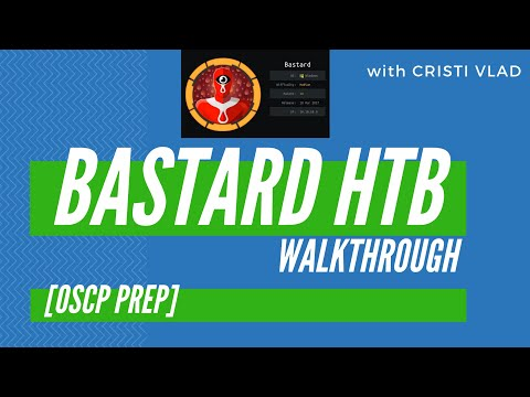 HackTheBox Bastard Tutorial - OSCP Preparation thumbnail