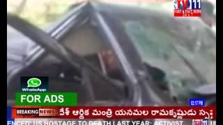 tv9 reporter badri dead in accident