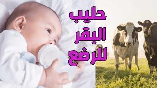 اضرار اللبن البقري او الزبادي علي صحة الرضع  مع د. يوسف قضا/ Hazards of caws milk on infants