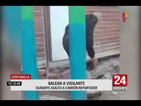 Callao: capturan a banda que asaltó camión repartidor en Ventanilla