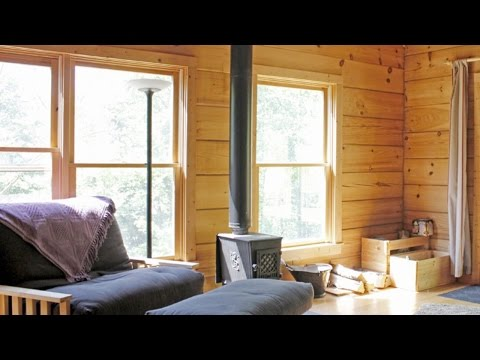 One Bedroom (and Sleeping Loft) House | 830 Sq Ft Cabin in the Woods