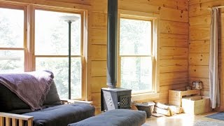 One Bedroom And Sleeping Loft House | 830 Sq Ft Cabin In The Woods