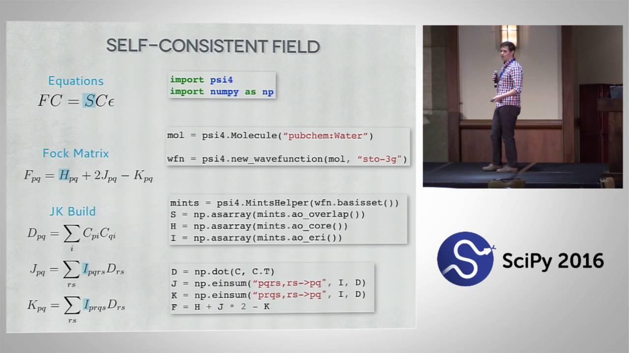 Image from Psi4: A Case Study on Modernizing & Modularizing Quantum Chemistry w/ Python & C++