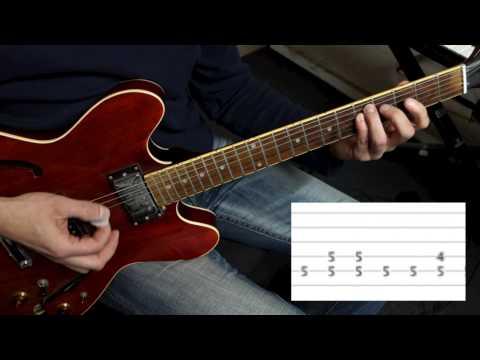Die Toten Hosen - Altes Fieber  -  Rhythmusgitarre mal richtig