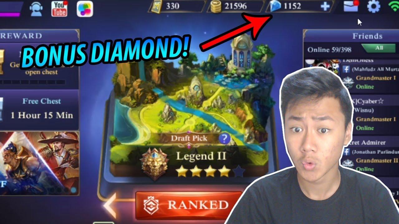 CARA DAPETIN BONUS DIAMOND MOBILE LEGENDS! - YouTube