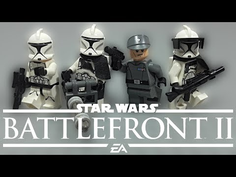 LEGO Star Wars Battlefront  - Phase 1 Clone Trooper Classes Tutorial & Review