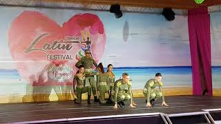 Tropical Gem salsa dance performance @Lebanon Latin festival